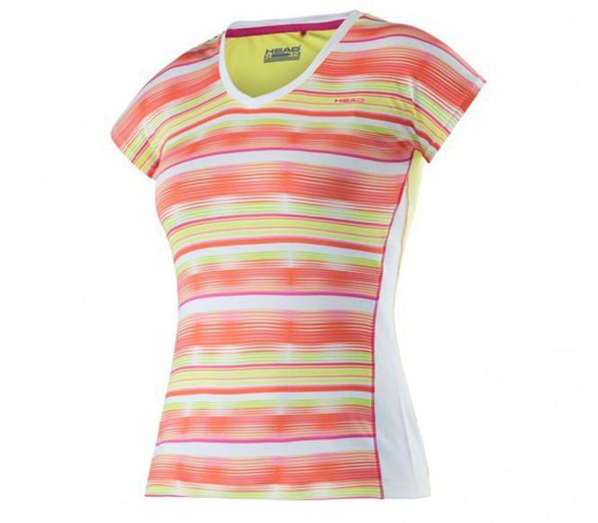 Head Ann barn tennisshirt (coral/rosa) 164