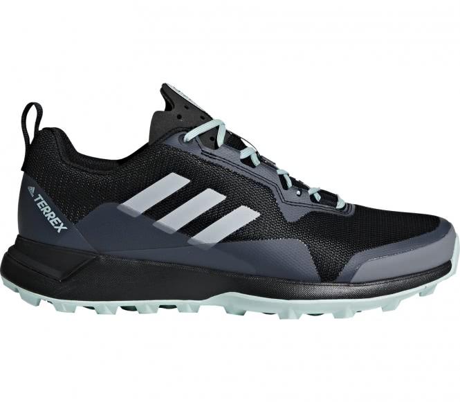 adidas Terrex Fast Gtx® Schwarz, Damen Gore-Tex® Trailrunning- & Laufschuh, Größe EU 42 2/3 - Farbe Core Black-Grey Five-Chalk Coral Damen Gore-Tex® Trailrunning- & Laufschuh, Core Black - Grey Five -