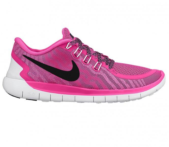 Nike - Free 5.0 Junior hardloopschoen - EU 35,5 - US 3,5 pink