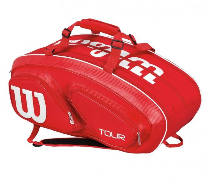 Tour V 15Pk Bag Tennistasche (rot)