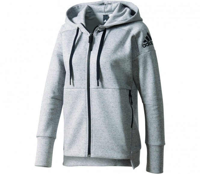 adidas Stadium Hoodie, Grijs, XS, Female, Not Sports Specific