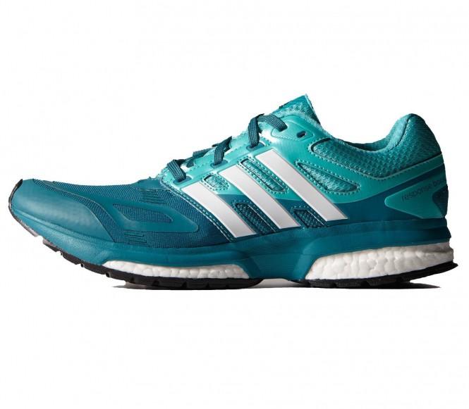 Adidas Response Boost Tech löparskor dam (turkos/ljusblå) EU 43 1/3 UK 9