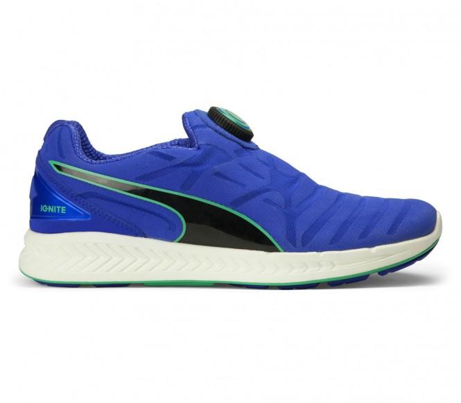Artikel klicken und genauer betrachten! - Puma - Ignite Disc Damen Laufschuh (blau/schwarz) - EU 40 - UK 6,5 | im Online Shop kaufen