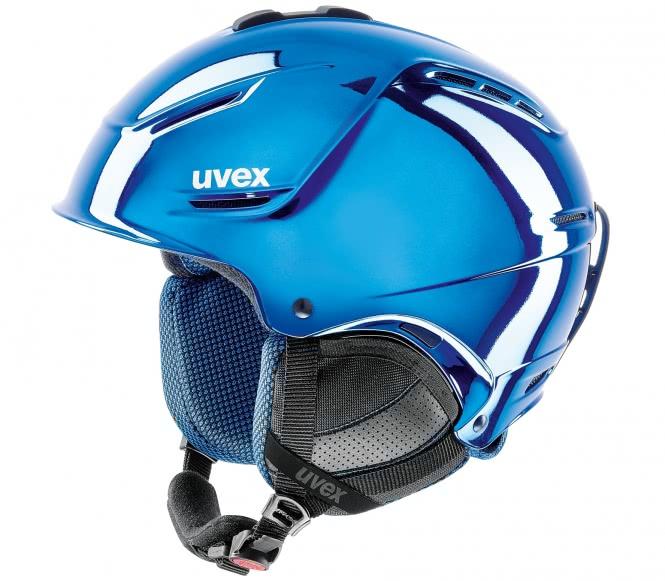 Uvex - Uvex P1us Pro Chrome Ltd Skihelm (blau) ...