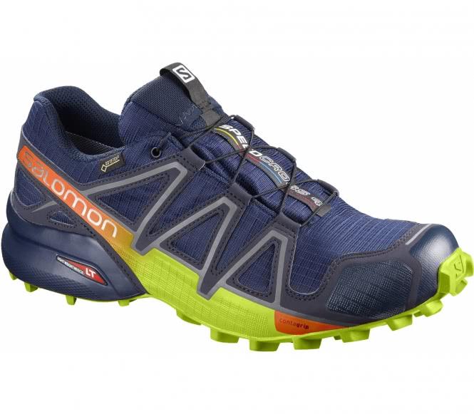 reputable site 1b0be 84fd6 ... Salomon - Speedcross 4 GTX® men s running shoes (dark blue yellow) - EU  44 2 3 - UK 10 1,183.10 kr  Nike - Flare women s tennis ...