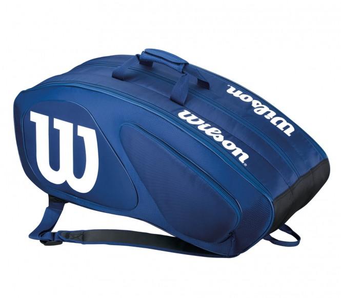 Team II 12Pk Bag Tennistasche (blau/weiß)