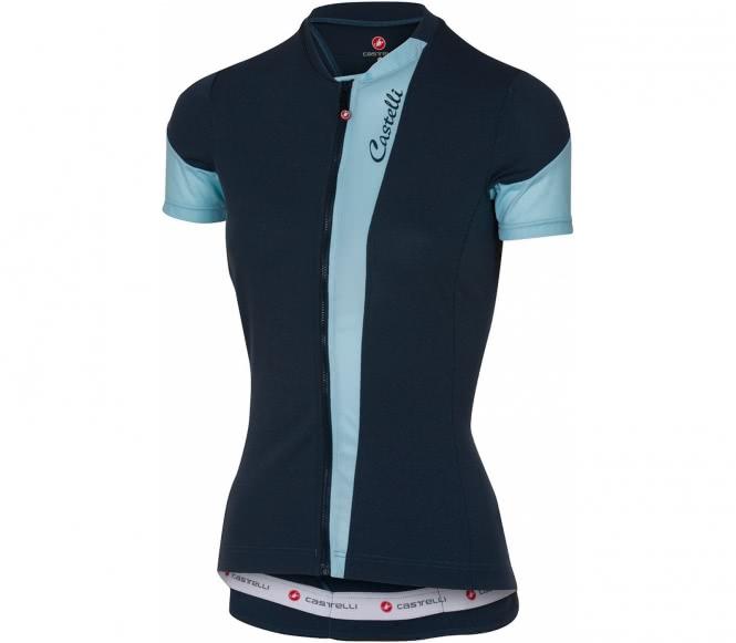 Castelli spada jersey fz femmes maillot de vélo bleu s