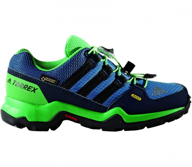 Terrex GTX Junior Hikingschuh (blau/grün) - EU 36 2/3 - UK 4
