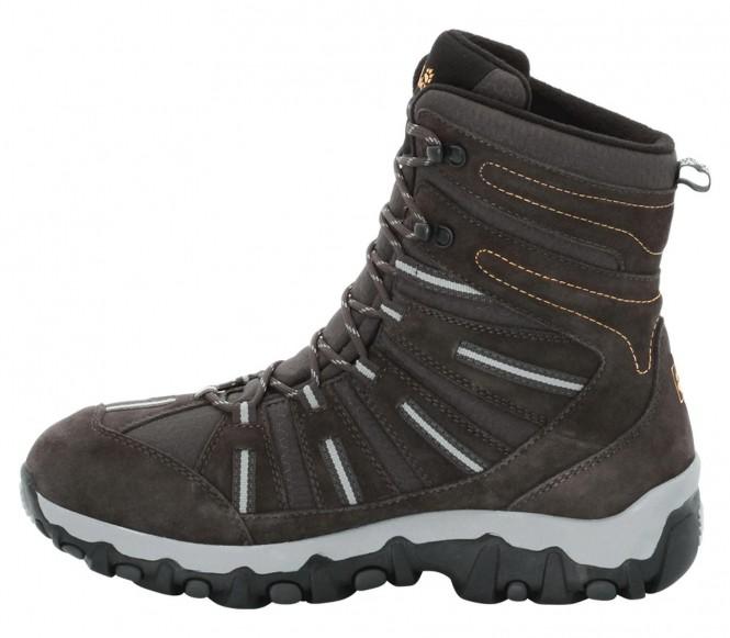 Jack Wolfskin Snow Trekker Texapore herr vinterskor (mörkbrun) EU 46 UK 115