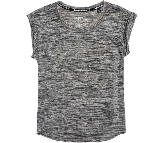 SUPERDRY SPORT® - Essentials Runner t-shirt de training pour femmes (gris) - M