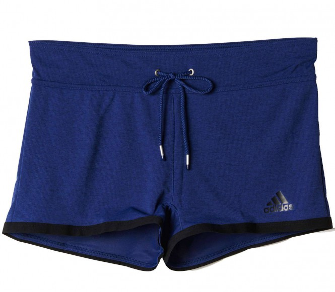 Adidas - Climachill dames Trainingsshorts - L donker blauw