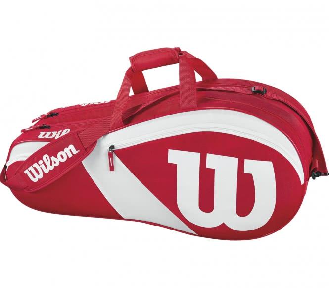 Match III 6PK Bag Tennistasche (rot/weiß)
