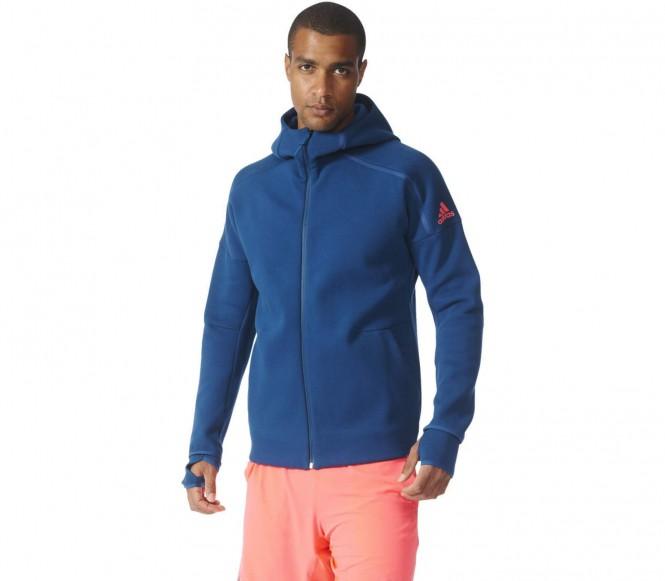 Adidas Z.N.E. Heren Tennis capuchon (donkerblauww-rood) L