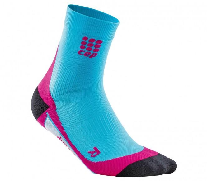 CEP - Dynamic Short Damen Laufsocken (rosa/blau...
