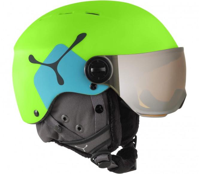 Cébé - Fireball Junior Skihelm 49-54cm (grün/blau)