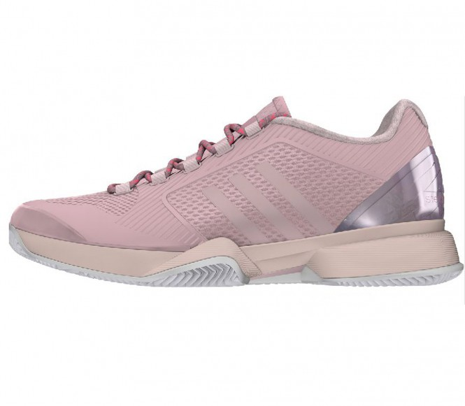 Adidas aSMC Barricade 2015 Clay Damen Tennisschuh EU 42 UK 8 roze