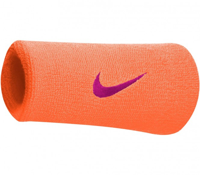 Nike - Premier Doublewide Wristband (orange/vio...
