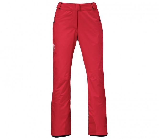 Schöffel Fergie Dynamic women's ski pants (red) 40