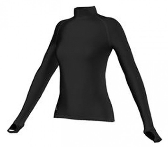 Adidas Aktiv Longsleeve women's running shirt (black) M