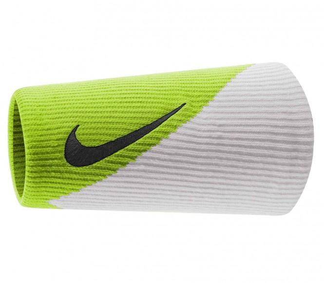 Nike Dri-Fit Doublewide Armband 2.0 (grön/vit)