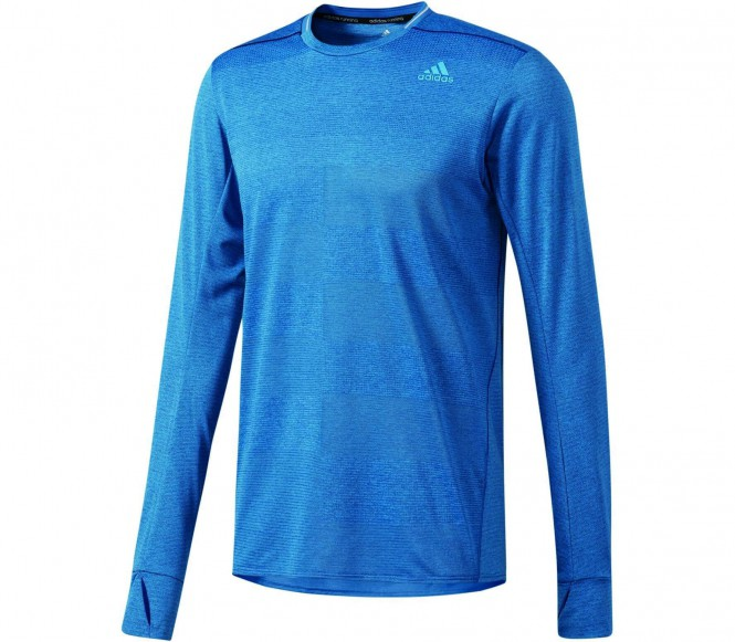Adidas Supernova Longsleeve men's running t-shirt (blue) S