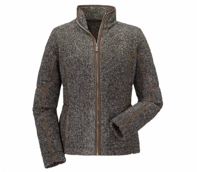 Schöffel Christie women's fleece jacket (dark brun) 36
