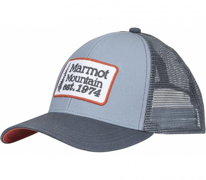 Marmot - Retro Trucker Unisex Outdoorcap (hellb...
