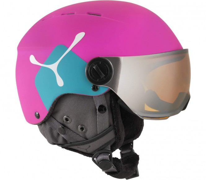 Cébé - Fireball Junior Skihelm (pink/blau)