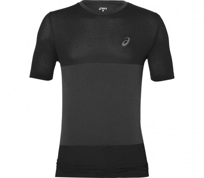 Asics - fuzeX Seamless Shortsleeve t-shirt de running pour hommes (gris) - S