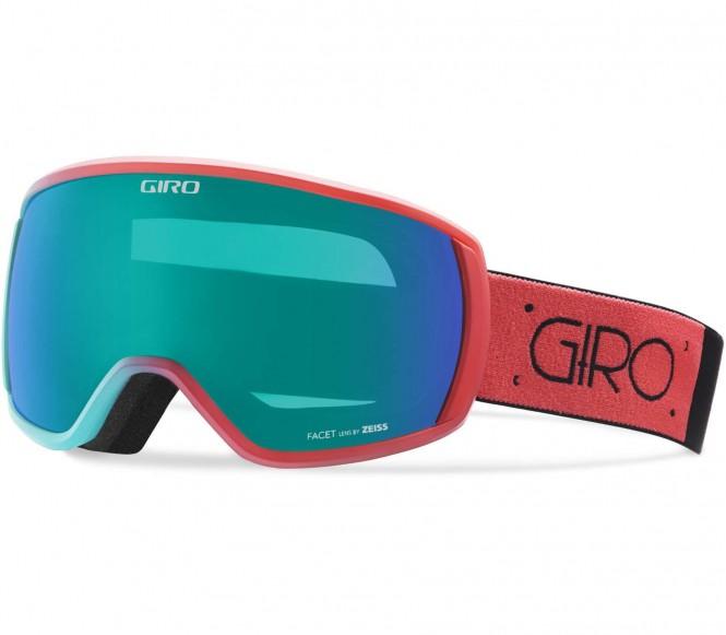 Facet Skibrille (blau/rot)