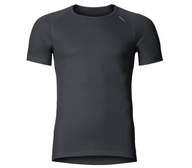 Odlo Cubic Shirt SS Crew Neck Black - M