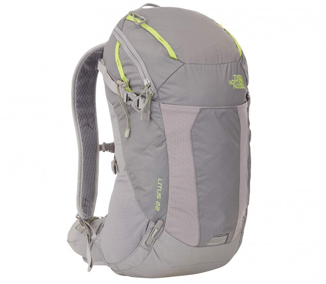 The North Face Litus 22 Zinc Grey/Macaw Green - S/M