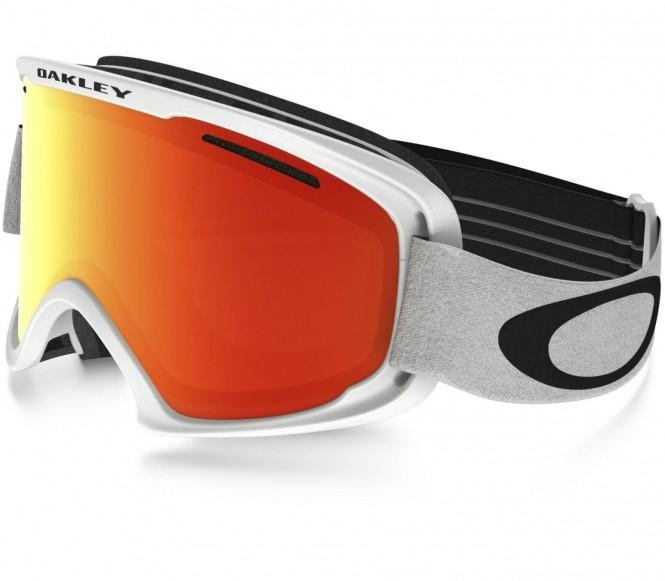 O2XM Skibrille (weiß/orange)