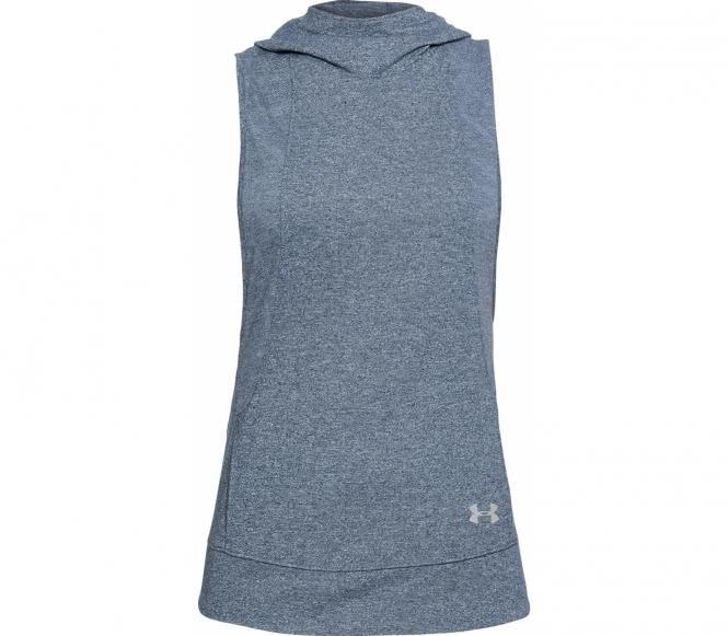 Under Armour - Threadborne Swyft Femmes chemise de course (bleu foncé) - S