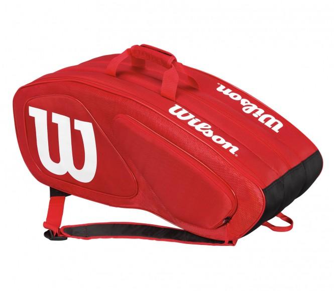 Team II 12Pk Bag Tennistasche (rot/weiß)