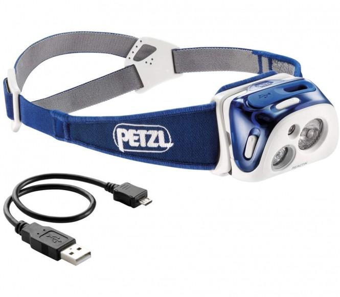 Petzl - Reaktic Stirnlampe (blau)