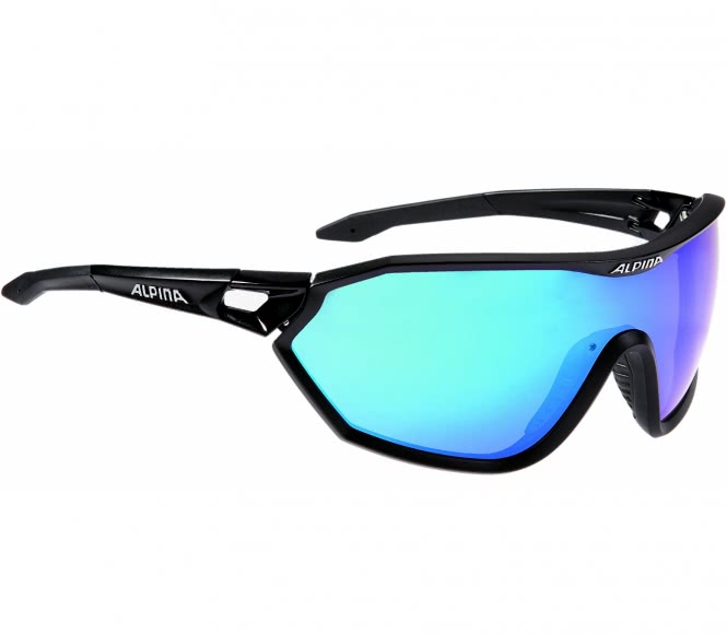 Alpina - Alpina S-Way CM Bike Brille (schwarz) ...