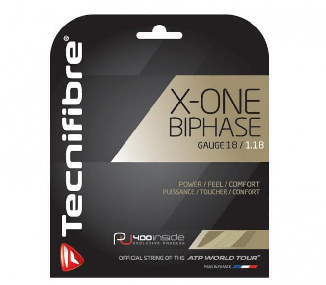 Tecnifibre X-one Biphase 122m natur-spiral 130mm