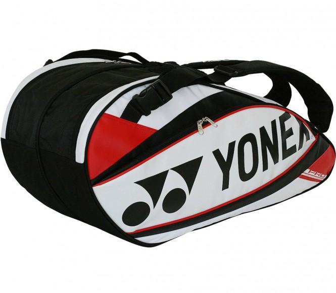 Pro Racket Tennistasche (weiß/rot)