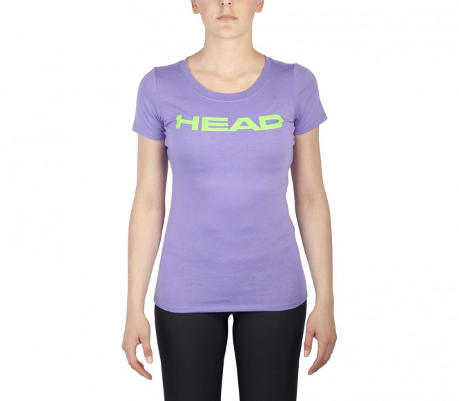 Head - Transition Lucy Damen Tennisshirt (lila/grün) - S