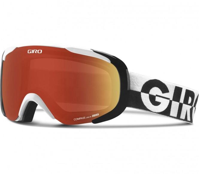 Compass Skibrille (schwarz/weiß)