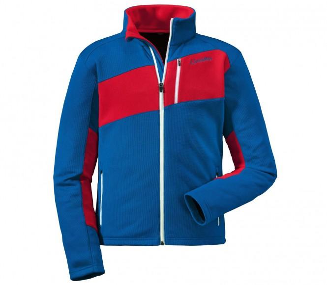 Schöffel Niklas men's fleece jacket (blå/röd) 50