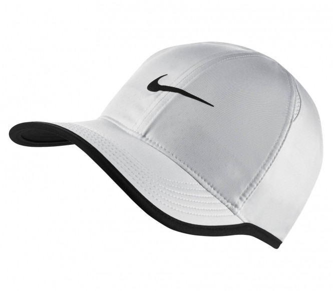 Nike - Featherlight Unisex Tenniscap (weiß)