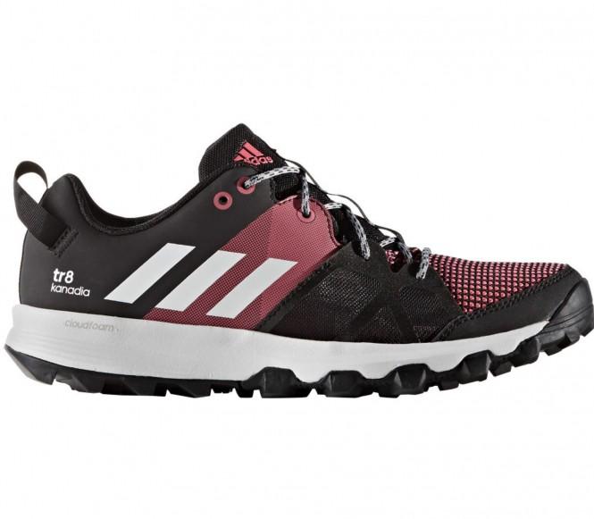 Adidas Kanadia 8 TR Dames Hardloopschoenen (zwart-roze) EU 38 2-3 UK 5,5