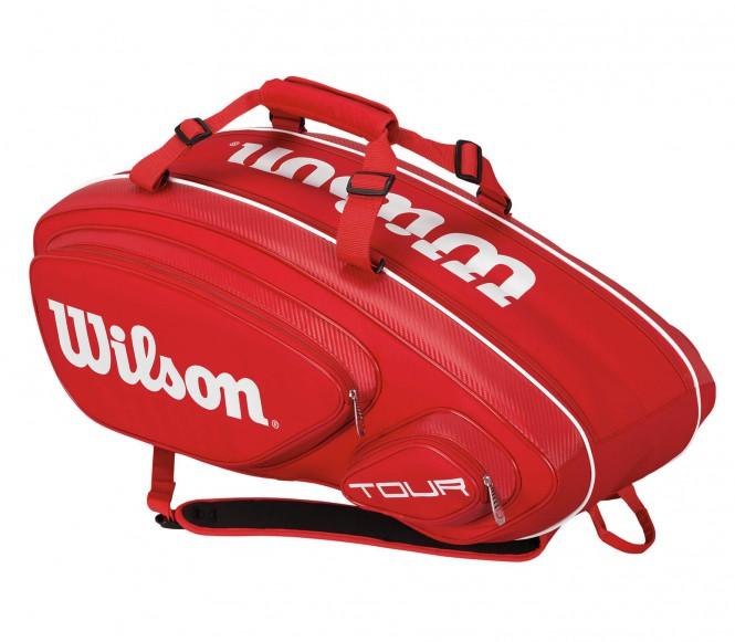 Tour V 9Pk Bag Tennistasche (rot)