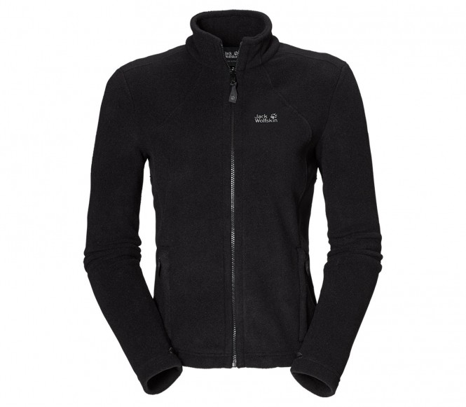 Jack Wolfskin MOONRISE Fleece jack Zwart