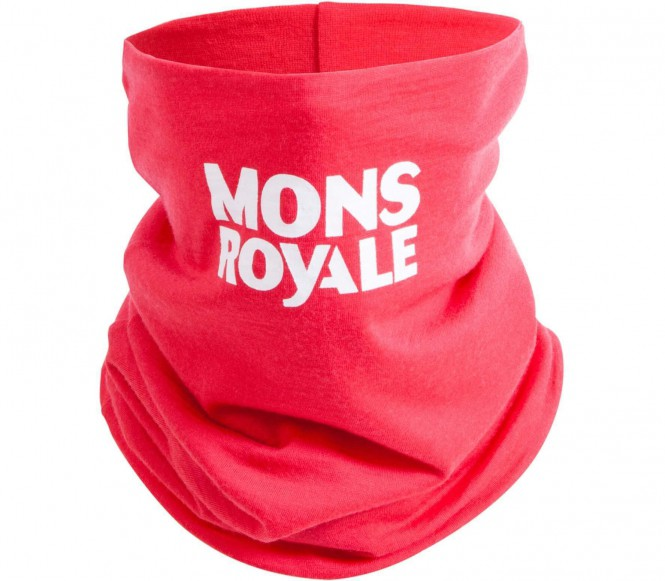 Mons Royale - Double Up Neckwarmer (rot)