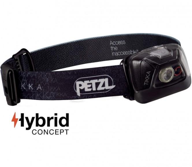 Petzl - Tikka Stirnlampe (schwarz)