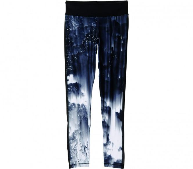 Adidas WOW Printed Dames Hardlooptight (zwart-braun) XS