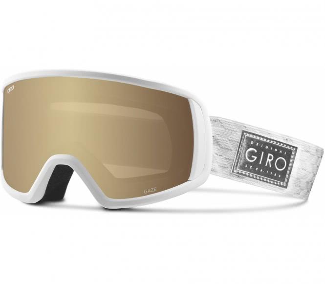 Giro - Gaze Damen Skibrille (weiß/gold)